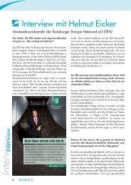 Interview mit Helmut Eicker in der KH-Info - Teutoburger Energie ...