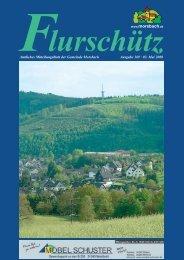 Ausgabe 169 vom 03.05.2008 - Gemeinde Morsbach