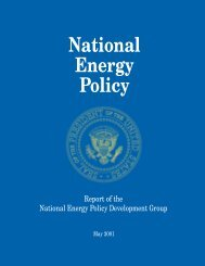 National Energy Policy - Office of Nuclear Energy - U.S. Department ...