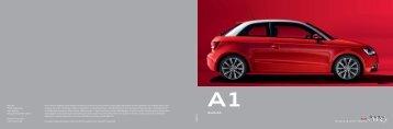 Katalog Audi A1 (PDF) - Autohaus Elmshorn