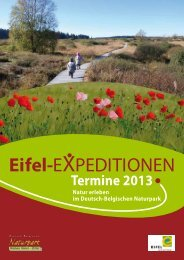 Eifel-Expeditionen 2013 [PDF | 5099,82KB] - Naturpark Hohes Venn ...