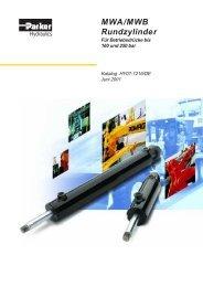 MWA/MWB Rundzylinder - Parker Hannifin Corporation