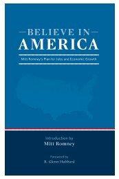 Mitt Romney - —BELIEVE IN — AMErICA - Washington Post