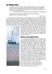 10. Offshore Wind 10. Offshore Wind - Nachhaltige Energiegewinnung