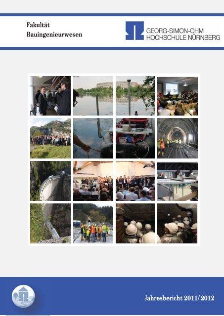 Fakultät Bauingenieurwesen Jahresbericht 2011/2012 - Ohm ...