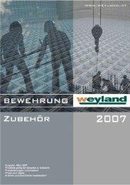 durchwahlverzeichnis - Weyland GmbH