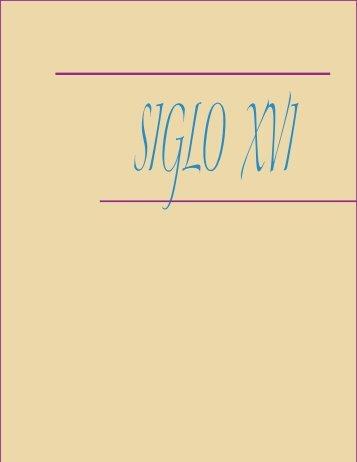 10- Siglos XVI, XVII y XVIII.pdf - Saber UCV