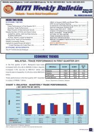 MITI Weekly Bulletin (Volume 141) - 10 May 2011 - Ministry of ...