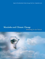 Manitoba Climate Change Task Force - International Institute for ...