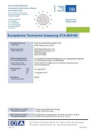 Europäische Technische Zulassung ETA-08/0190 - Würth
