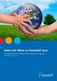 Daten und Fakten zu Kunststoff 2007 - PlasticsEurope