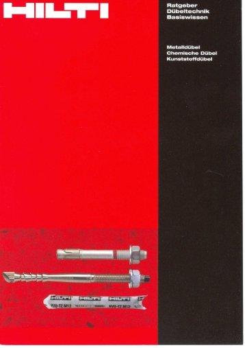 Adobe Acrobat Datei, deutsch - Hilti Deutschland GmbH