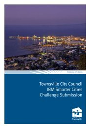 Townsville City Council IBM Smarter Cities Challenge Submission