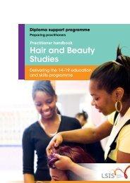 Practitioner Handbook - Hair and Beauty Studies - Habia