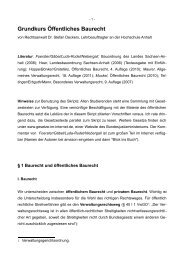 Grundkurs Öffentliches Baurecht - Dr. Stefan Deckers