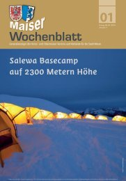 MWB 13-01.indd - Maiser Wochenblatt