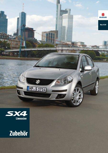 Zub Katalog SX4 - Suzuki