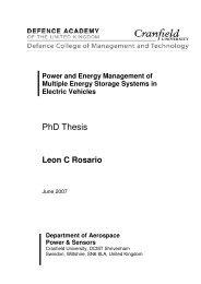 PhD Thesis - Cranfield University