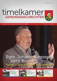 Ausgabe 3 - Marktgemeinde Timelkam