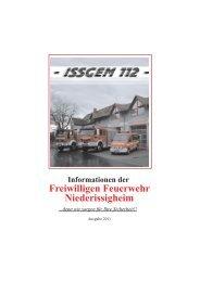 Freiwilligen Feuerwehr Niederissigheim - Freiwillige Feuerwehr ...
