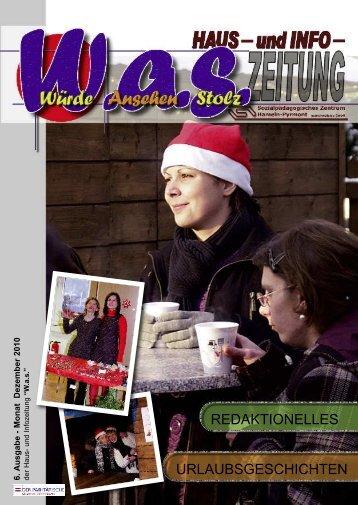 Ausgabe 6 - Sozialpädagogisches Zentrum Hameln-Pyrmont gGmbH
