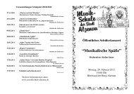 Musikalische Späße - Musikschule Alzenau Startseite