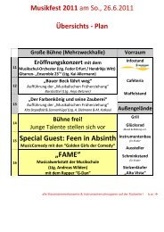 """Special Guest: Feen in Absinth """"FAME"""" - Musikschule Bergstedt"""