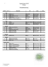 Ergebnisse Jugend jazzt NRW 2010 (PDF-Datei, 1
