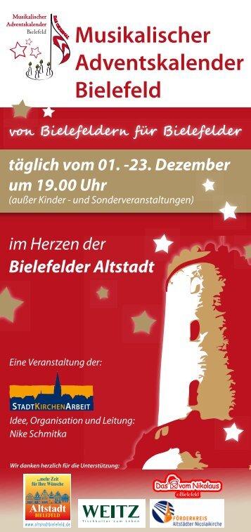 Musikalischer Adventskalender Bielefeld - in der Altstädter ...