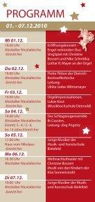 Musikalischer Adventskalender Bielefeld - in der Altstädter ... - Seite 2