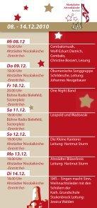 Musikalischer Adventskalender Bielefeld - in der Altstädter ... - Seite 3