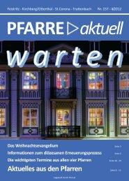Ausgabe Nr. 4/2012 - Pfarre Kirchberg am Wechsel