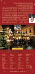 Weihnachtsmarkt Weihnachtsmarkt - Pfarrkirchen