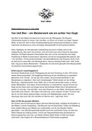 Van Ueli Bier – ein Meisterwerk wie ein echter Van ... - advocacy ag