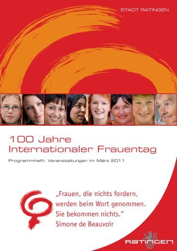 100 Jahre Internationaler Frauentag - agenda21ratingen