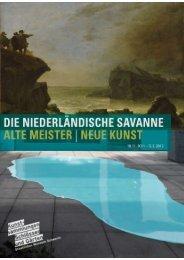 die niederländische savanne alte meister - Staatliches Museum ...