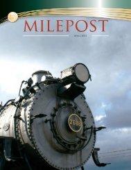 21638 - April 2011 Milepost.indd - Railroad Museum of Pennsylvania