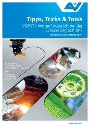 Programm VOPST - Tipps, Tricks und Tools