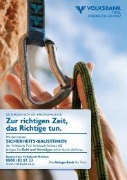Zur richtigen Zeit, das Richtige tun. - Volksbank Tirol Innsbruck ...