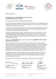 Internationaler Museumstag 12. Mai 2013 - Deutscher Museumsbund