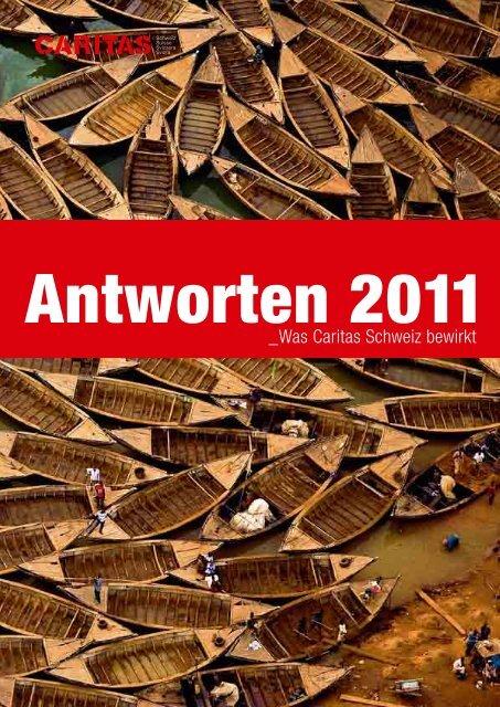 Jahresbericht 2011 - CARITAS - Schweiz
