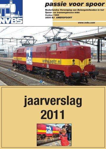 jAARVERSLAg - Nederlandse Vereniging van Belangstellenden in ...