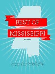 Best of Mississippi - Mississippi Magazine