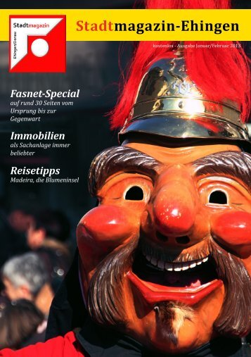 Stadtmagazin-Ehingen Fasnet-Special