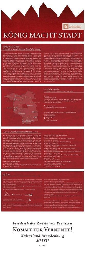 """Download Faltblatt - """"Städte mit historischen Stadtkernen"""" des ..."""
