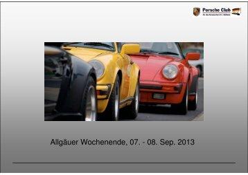 Detailinformation - Porsche Club CMS
