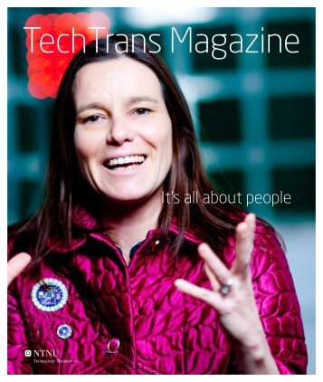 TechTrans Magazine - Department of Computer and Information ...