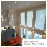 Stora Enso Effex® Designer Wood Panelling - Ecobuild