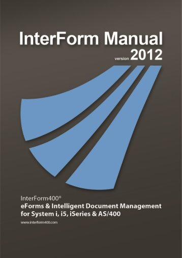 InterForm Manual - System & Method