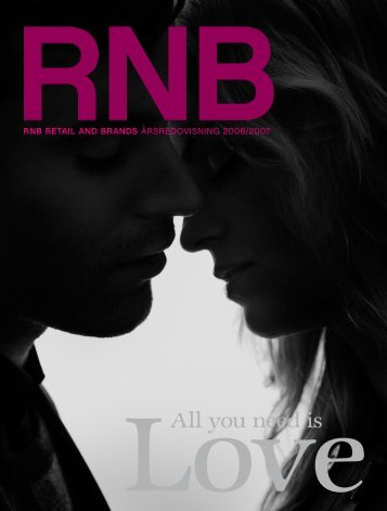All you need is - RNB - rnb retail and brands